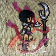 Sailor Saturn perler fuse beads by b.dawg.skip