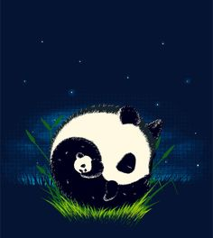 Panda Bears by ophelia