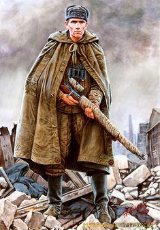 A. Karaschuk. Russian Sniper