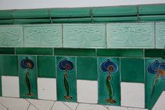 Tenement close tiles