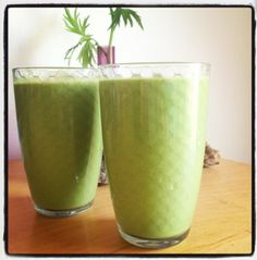 Post workout green juice love-fed.com