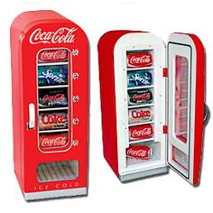 Bon Thermoelectric Retro Coca Cola Vending Refrigerator   Give Your Home Or  Office A Coke Machine