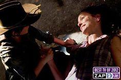 #TheWalkingDead: Lori's death breaks everybody's heart.