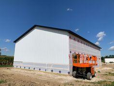 40x60 Pole Barn in Ottawa County. 40x60 Pole Barn, Pole Barns, Ottawa, Warehouses