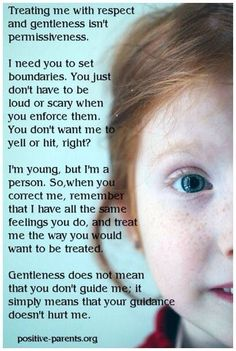 Why do gentleness and respect get thought of as permissiveness? - ThatNewCruchyMom