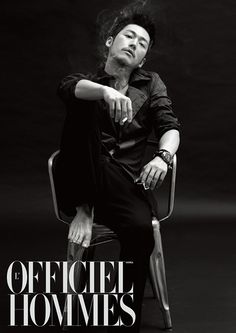 Jang Hyuk for L'Officiel Hommes | whoopeeyoo! :D go ahead, tell me again how they all look like girls....