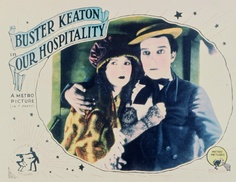 Buster Keaton's Our Hospitality (1923) Natalie Talmadge in Buster Keaton's Our Hospitality (1923), her final appearance.