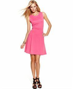 Communion? INC International Concepts Sleeveless Pleated A-Line Dress