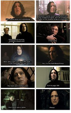 Severus Snape Quotes