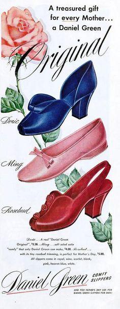 Daniel Green Slippers, May 1950 | Flickr - Photo Sharing!