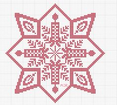 ergoxeiro.gallery.ru watch?ph=bEug-fKTUc&subpanel=zoom&zoom=8 Square Patterns, Doily Patterns, Cross Stitch Patterns, Filet Crochet Charts, Christmas Crochet Patterns, Christmas Cross, Xmas Decorations, Crochet Designs, Crochet Doilies