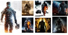 Too much of the same, come on game cover designers!