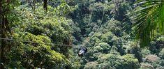 ziplining in costa rica!!