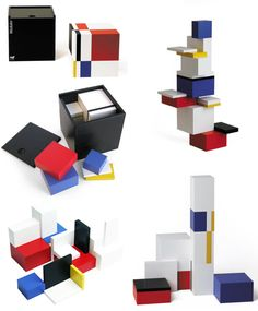 Naef Modulon  4-1/2″ wooden cube that is divided into 16 building blocks based on the Golden Ratio.