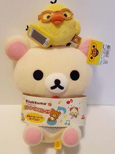 Authentic Rilakkuma san-x korilakkma & kiiroitori plush doll From Japan KAWAII | Collectibles, Animation Art & Characters, Japanese, Anime | eBay!