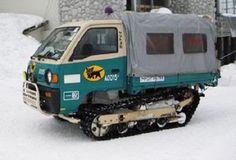 くまニュース : クロネコヤマトの豪雪地帯用車輛の勇姿をご覧ください