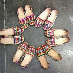 Sandalia Artesanal hecho en Chiapas