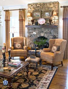 46 Cozy Fireplace Decor For Cottage Living Room. While they may be a rarity in warmer climes, most houses in the colder parts of the United States almost always have a fireplace in the living room.