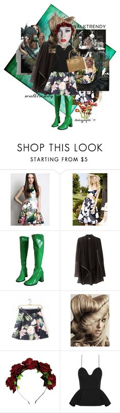 """walk trendy in this skirt"" by daizyjayne ❤ liked on Polyvore featuring L'Atiste, Trevor Sorbie and Chalayan"