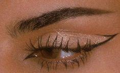 Indie Makeup, Edgy Makeup, Makeup Eye Looks, Eye Makeup Art, Cute Makeup, Pretty Makeup, Skin Makeup, Eyeshadow Makeup, Makeup Inspo