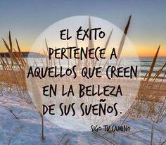 Persigues tu #exito ??? Deja de perseguirlo porque lo tienes frete a ti!! http://www.tlclatino.net/cambiototaldevida