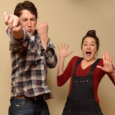 Miles Teller and Shaileen Woodley