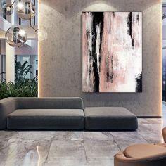 Apartment Decor Original Art Artwork Acrylic Painting | Etsy Large Abstract Wall Art, Large Painting, Abstract Canvas, Canvas Wall Art, Black Abstract, Modern Art Deco, Modern Wall, Oversized Wall Art, Extra Large Wall Art
