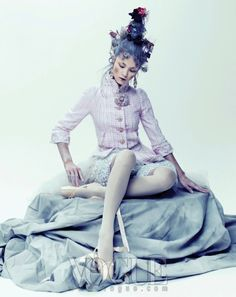 The Terrier and Lobster: Coco Rococo in Vogue Korea December 2012