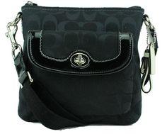Coach Park Signature Swingpack Black 49148  Handbags  Amazon.com 75be4c2e367a2