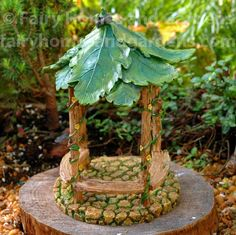 Fairy Homes and Gardens - Fairy Garden Forest Gazebo, $17.89 (https://www.fairyhomesandgardens.com/fairy-garden-forest-gazebo/)