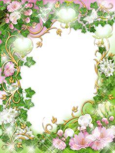 View album on Yandex. Cartoon Girl Images, Girl Cartoon, Printable Frames, Borders And Frames, Floral Border, Flower Backgrounds, Flower Frame, Girls Image, Vintage Flowers