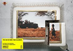 Amnesty International 60th Birthday cake