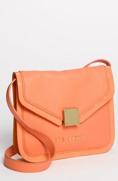 Ted Baker London 'Crosshatch' Leather Crossbody Bag available at #Nordstrom