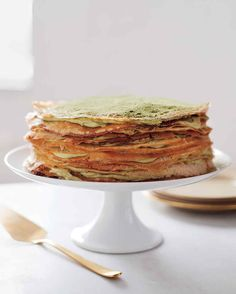 This cake is best assembled on the day it is being served. Refrigerate, assembled and uncovered, up to 1 day. Martha made this recipe on episode 508 of Martha Bakes.