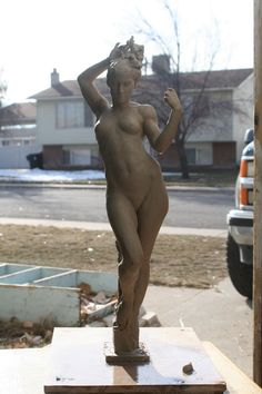 Venus (before firing in kiln) by ~sculptor6 on deviantART