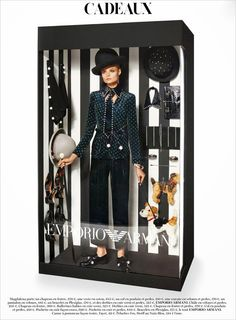 The Fashion Doll Chronicles: French Vogue editorial: models as Barbies