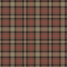 Ross Hunting Weathered tartan - 1/4 scale fabric by weavingmajor on Spoonflower - custom fabric