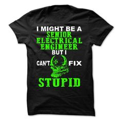 Senior Electrical Engineer T-Shirts, Hoodies. Get It Now ==► https://www.sunfrog.com/No-Category/Senior-Electrical-Engineer.html?id=41382
