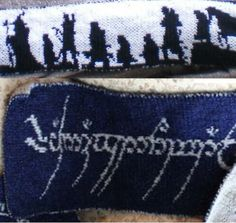 Lord Of The Rings Scarf Pattern Ravelry Color Knitting