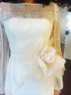 Hillenius Couture Wedding Dresses Bridal Fashion Bruiden Trouwjurken Lace Soft Pink Rose Flowers