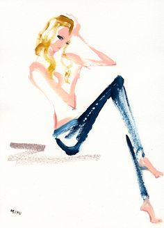 """""""Candice Swanepoel for Rag & Bone DIY Project""""  ラグ&ボーンのDIYプロジェクト、ミランダに続き、今回もヴィクトリアズ・シークレット(Victoria's Secret)から!セクシーなキャンディス・スワンポール。"""