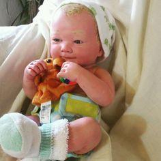 Custom Reborn OOAK Hand Painted  Preemie Berenguer La Newborn