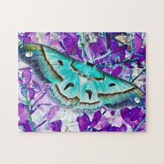 Blue Butterfly Puzzle - spring gifts beautiful diy spring time new year
