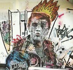 by Stikki Peaches #streetart https://www.facebook.com/StikkiPeaches/  ♥♥♥