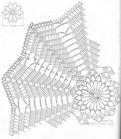 Doily 166 diagram