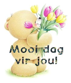 Goeie More, Afrikaans, Good Morning, Teddy Bear, Animals, Bom Dia, Animales, Buen Dia, Bonjour
