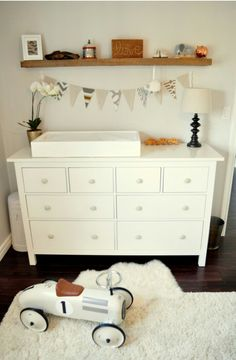 Do something like this with the dresser we have