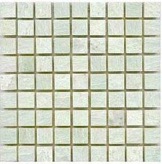Ming Green 81 polished marble mosaic tiles