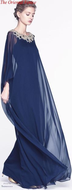 Hand Embroided Kaftan Dress New Beautiful Ladies Dubai Kaftan Farasha Jalabiya Embroidery Abaya Description Elegant Butterfly Style Farasha High Fashion, Fashion Show, Fashion 2015, Evening Dresses, Formal Dresses, Dresses 2016, Maxi Robes, Mode Style, Beautiful Gowns