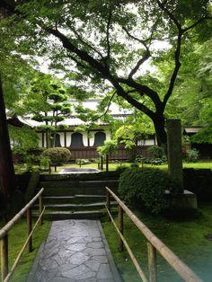 fukuoka-ken miyama-shi kiyomizu  福岡県みやま市 清水寺 室町時代に雪舟が造ったと伝えられる清水寺本坊庭園(国指定名勝)